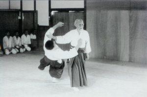 Aikido gift- O-sensei werpt